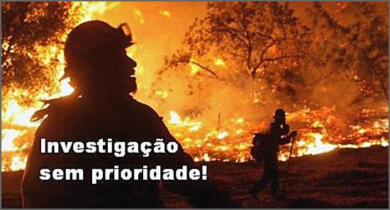 Os bombeiros andam revoltados