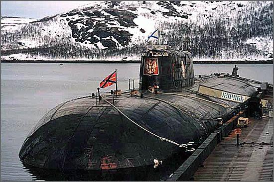 O submarino russo Kursk afundou-se há 15 anos, morrendo toda a tripulação