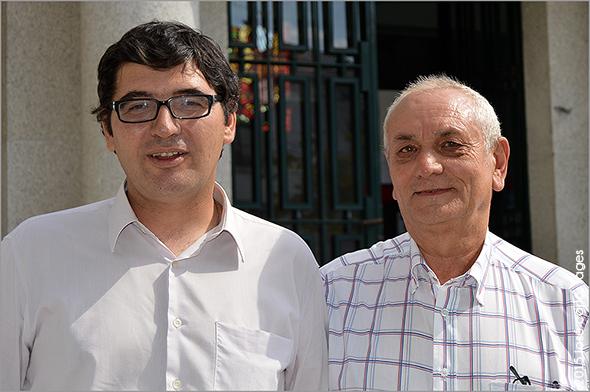 Alfredo Nobre (PAF) e José Paiva (PDR) - Guarda - Capeia Arraiana