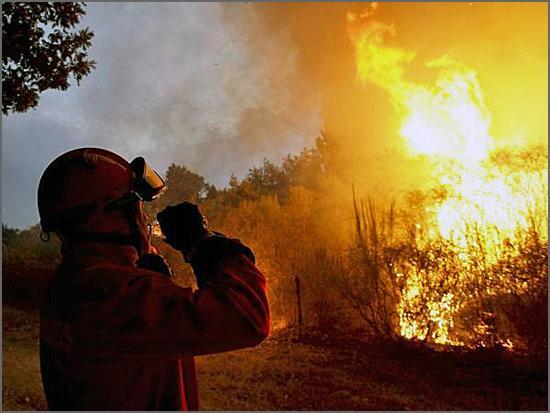 Sortelha viu o maior incêndio desde o início do ano no país