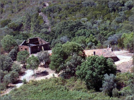 A Quinta do Major em plena serra da Malcata