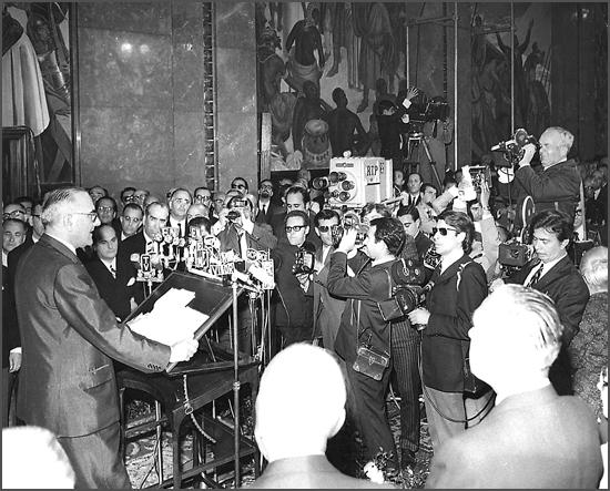 Há 47 anos - Marcelo Caetano, na tomada de posse como Presidente do Conselho