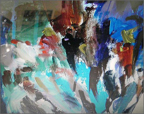 Cogitações – Pintura de Alcínio