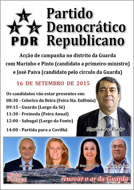 PDR Guarda - Comunicado - Capeia Arraiana
