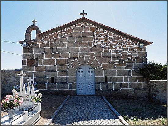 O Barão de Ruivós nasceu há 236 anos (foto da Igreja de S. Paulo - Ruivós)