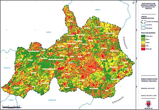 Interessa saber se as redes de defesa da floresta estão definidas, concretizadas e operacionais