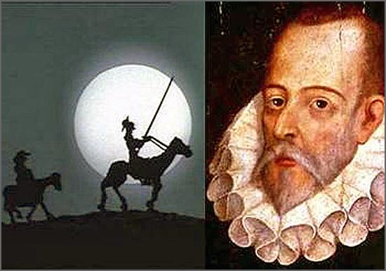 Há 468 anos nasceu em Espanha Miguel de Cervantes, autor de D. Quixote de la Mancha