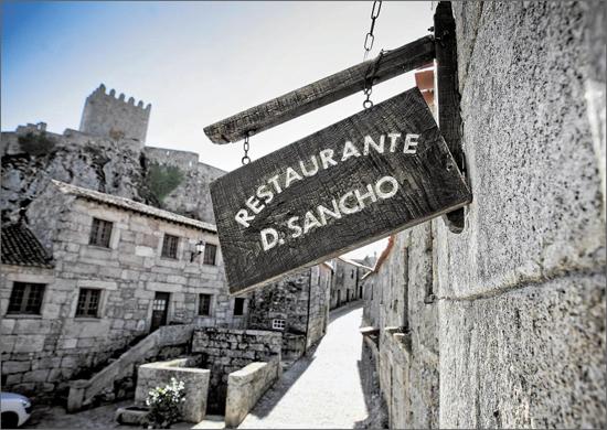 Sortelha e o restaurante D. Sancho