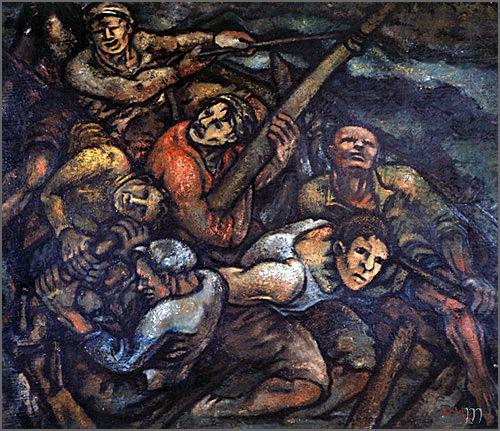 Avelino Cunhal nasceu há 128 anos em Seia - pintura da sua autoria