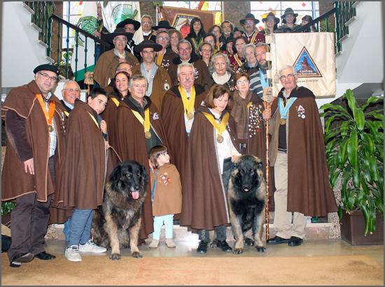 Foto de Família com as várias confrarias presentes
