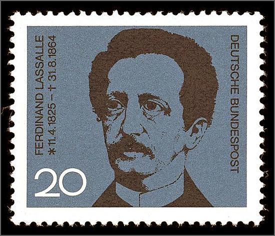 Ferdinand Lassalle, fundador da social democracia alemã