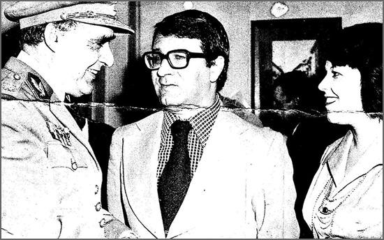 Octávio Chau Afonso nasceu há 79 anos (na foto com o Marechal Spínola)