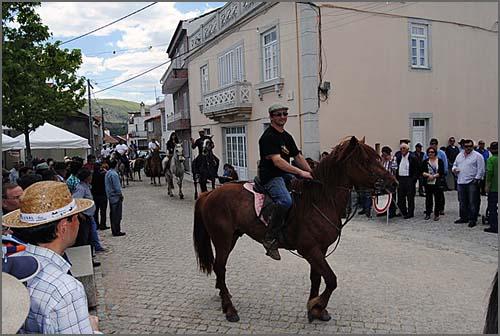 Cavalos na Festa da Caça do Casteleiro