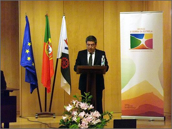 Vítor Pereira - presidente da CIM Beiras e Serra da Estrela