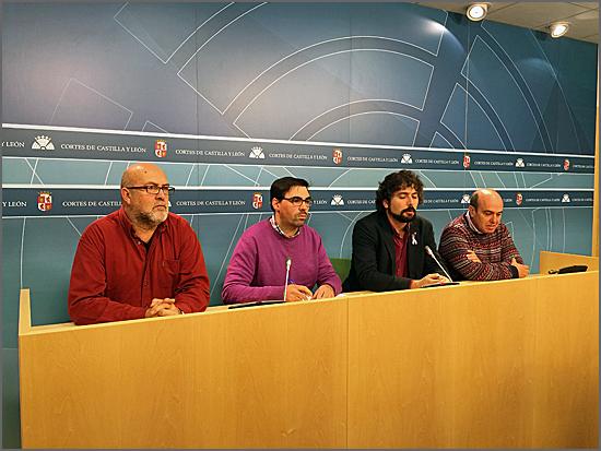 O PEV reuniu em Valladolid com a Esquerda Unida