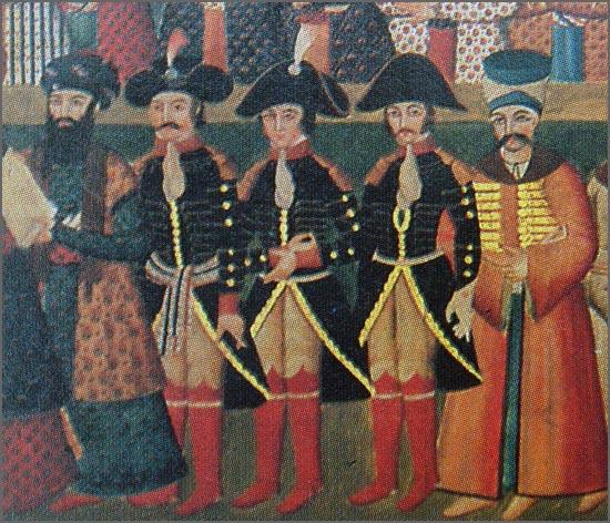 Há 205 anos o general Gardanne passou com as suas tropas no Sabugal (na foto: o general Gardanne, com os generais Jaubert and Joanin, na missão diplomática na Pérsia, em 1808)