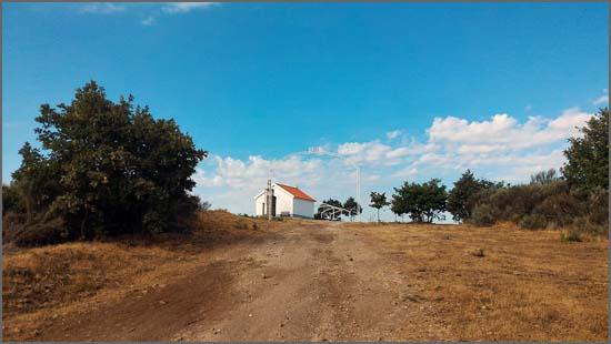 Capela de São Gens em Quadrazais