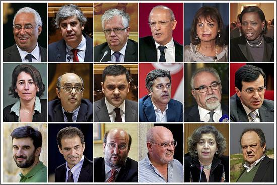 As caras do novo Governo