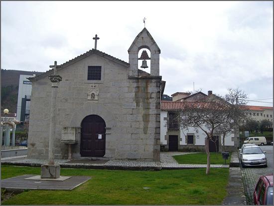 A imagem da Capela de São Francisco de Assis do Fundão serviu de capa ao livro de António Boavida