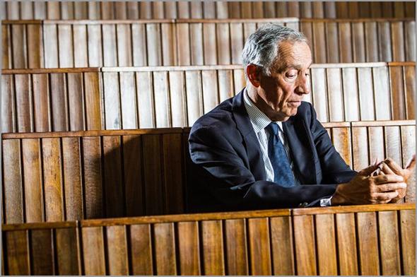 Marcelo Rebelo de Sousa no Anfiteatro 1 da Faculdade de Direito de Lisboa - capeiaarraiana.pt
