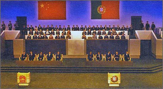 Há 16 anos Portugal transmitiu à China a soberania sobre o território de Macau
