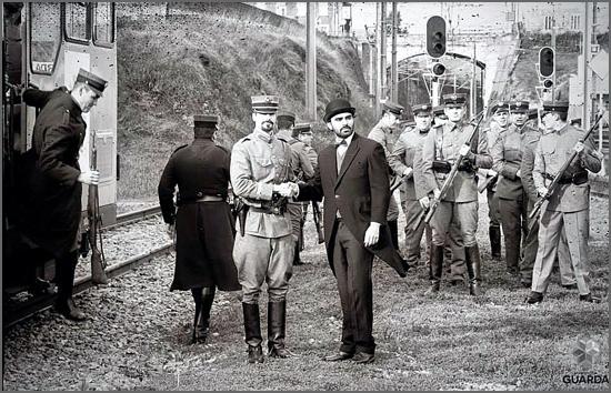 A GNR chegou à Guarda há 101 anos (foto da recriação em 2014)