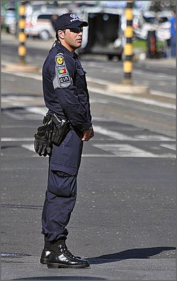 Segurança pública vigilante