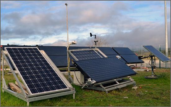 Sistema de aproveitamento de energia instalado pelo IPG
