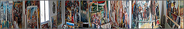 Desassossego – Pinturas de Alcínio