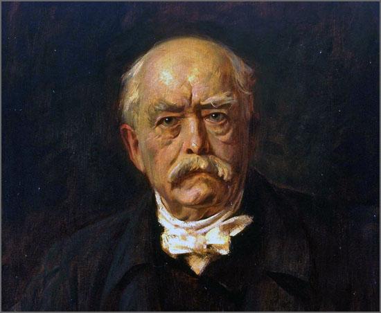 Há 145 anos Otto von Bismarck formou o Império Alemão