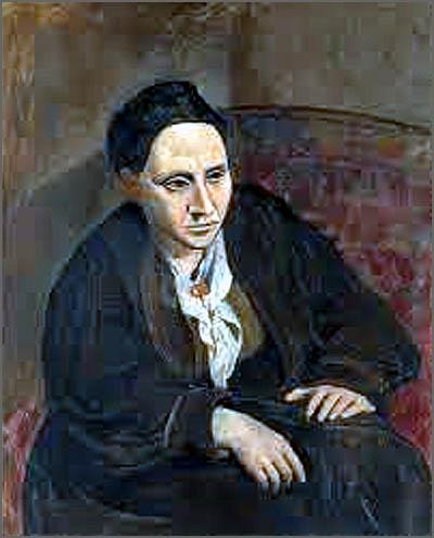Gertrudes Stein - Retrato de Piscasso