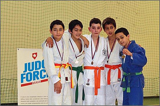 Os jovens judocas sabugalenses