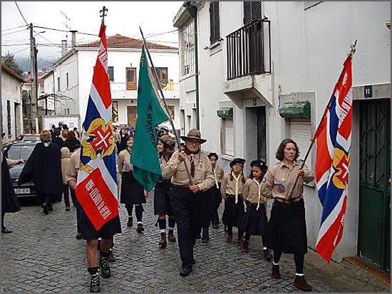 Desfile da FNA na Covilhã