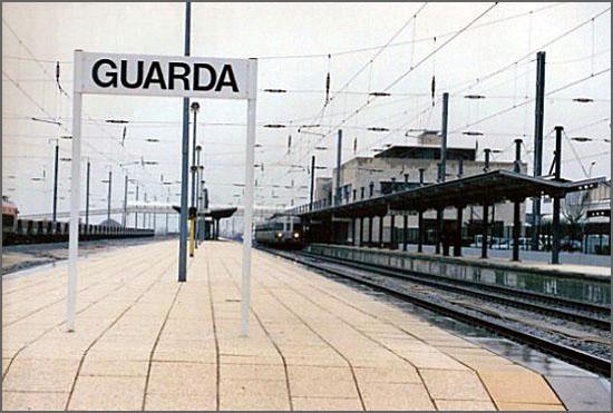 Estação da CP da Guarda (foto: D.R.)
