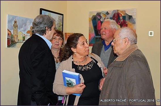 Franklim Braga (em segundo plano) e alguns dos presentes