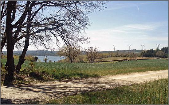 A paisagem soberba do local onde ocorreu a Batalha do Sabugal
