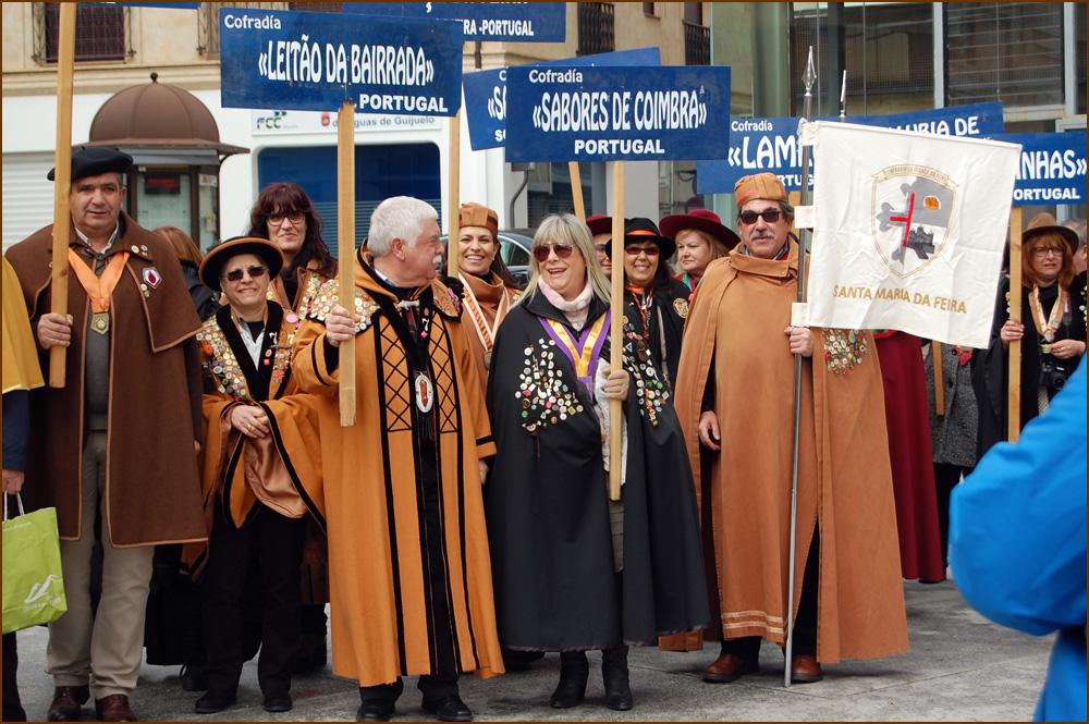 XX Capítulo da Confradia Gastronómica de Guijuelo - Confraria Bucho Raiano - Capeia Arraiana