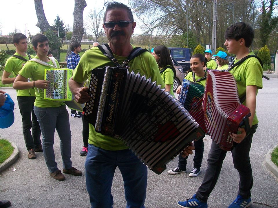 As Concertinas do Safurdão animaram a festa