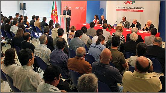 As Jornadas Parlamentares do PCP serão em Vila Real