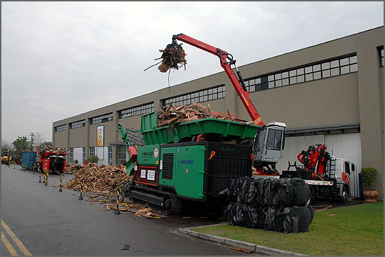 Recolha da Biomassa Florestal