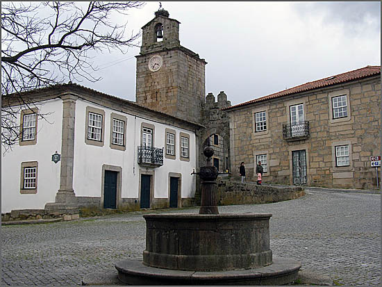 Largo da Câmara no Sabugal