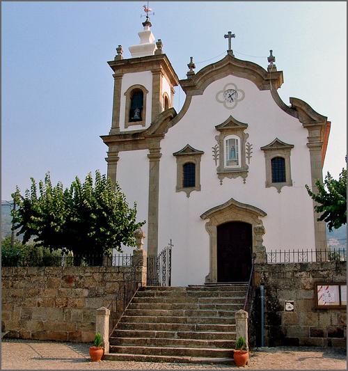 Igreja matriz de Aldeia Nova do Cabo