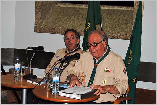 Francisco Monteiro falou sobre o movimento escutista