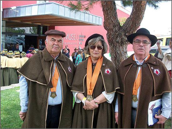 Uma confreira e dois confrades representaram o Bucho Raiano