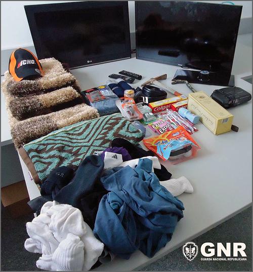 O que foi recuperado pela GNR