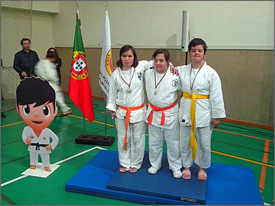 Maria Ribeiro ganhou a medalha de ouro