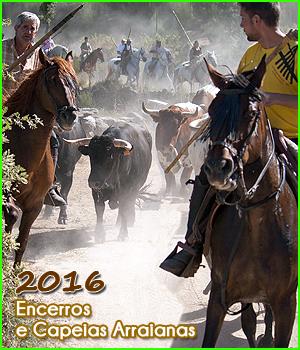 Calendário 2016 - Encerros e Capeias Arraianas- Sabugal