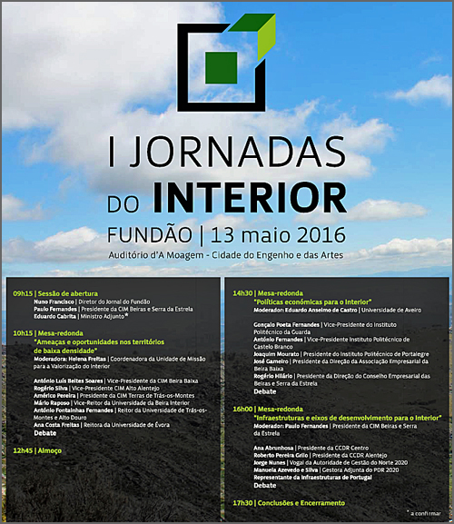 Jornadas do Interior no Fundão