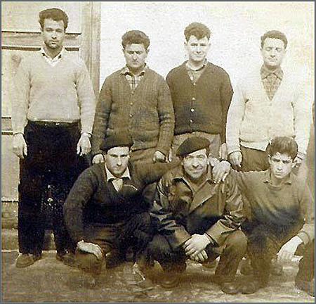 Homens do Soito que foram a salto para França