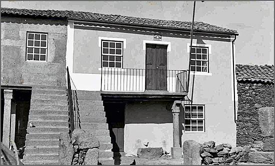 A Guarda Fiscal vigiava a fronteira - antigo posto de Vale de Espinho
